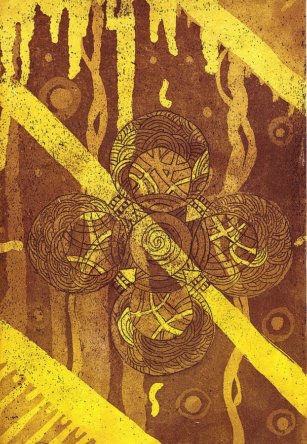 Celtic Cross  2 Tapestry - Textile