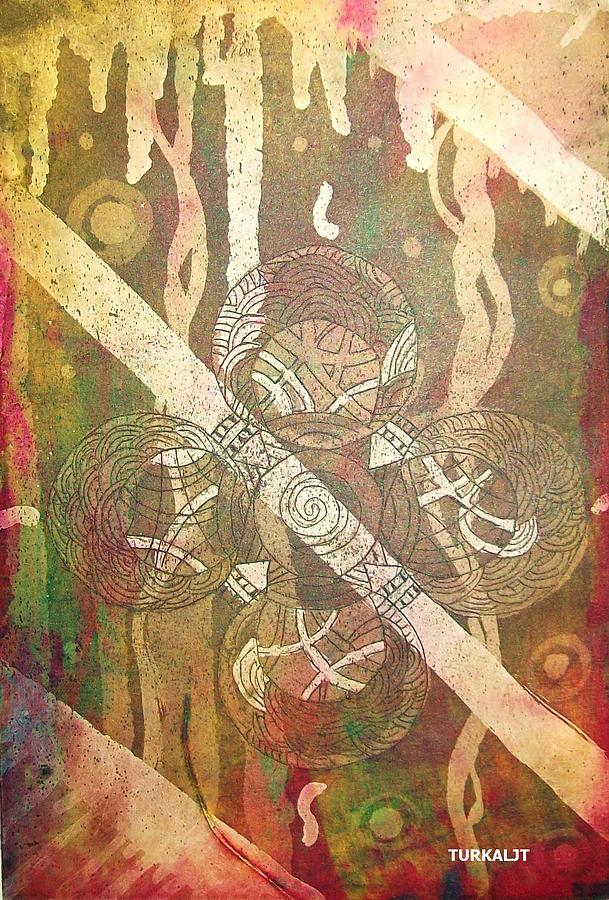 Celtic Cross 3 Tapestry - Textile  - Celtic Cross 3 Fine Art Print