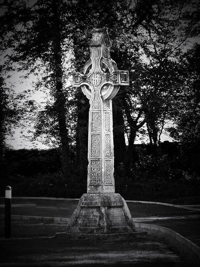 Celtic Cross In Killarney Ireland Photograph