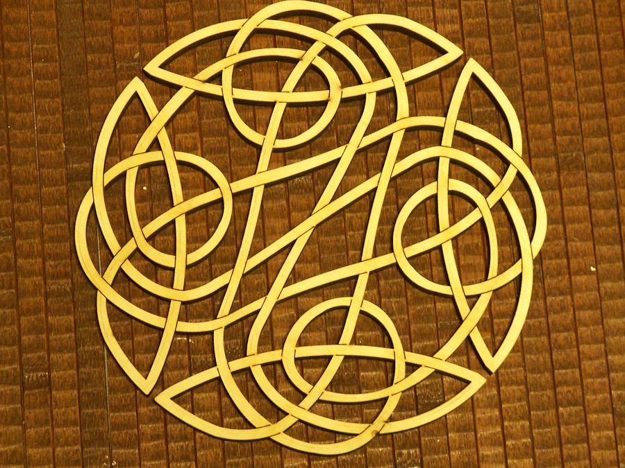Celtic Knot Sculpture  - Celtic Knot Fine Art Print
