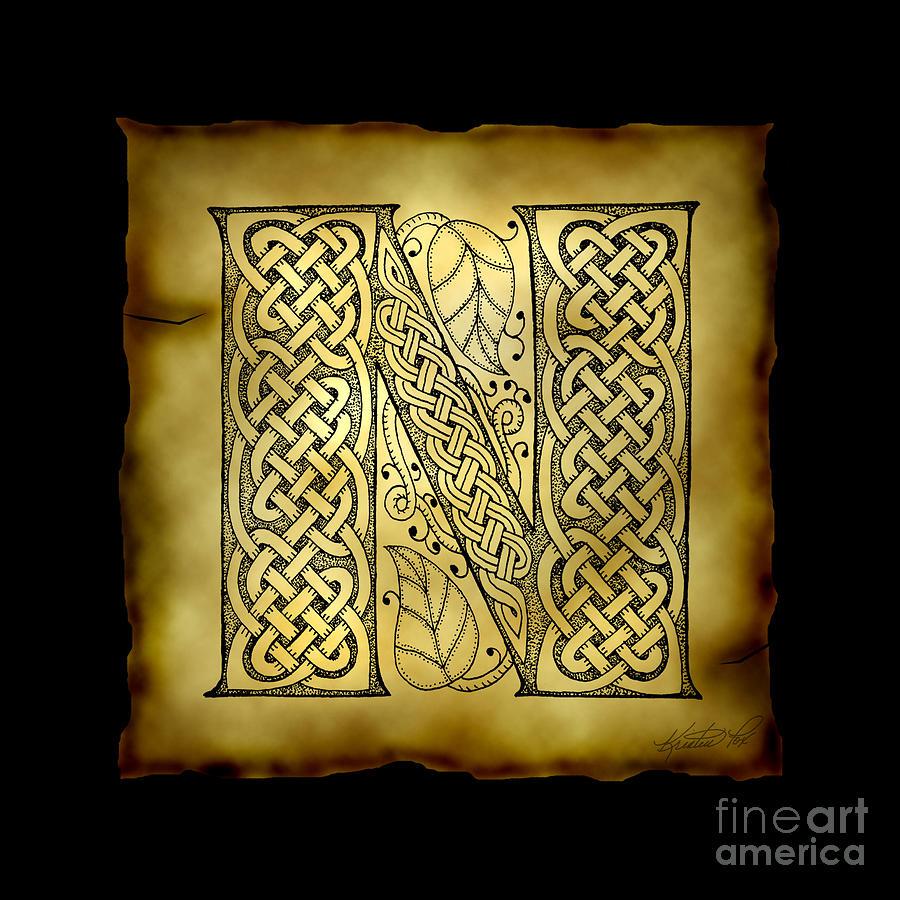 ... Celtic Knotwork, Art, Kristen Foxes, Celtic Letters, Full Alphabet