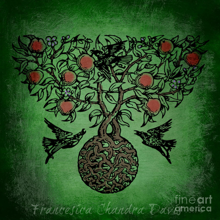 Celtic Tree Of Life Art