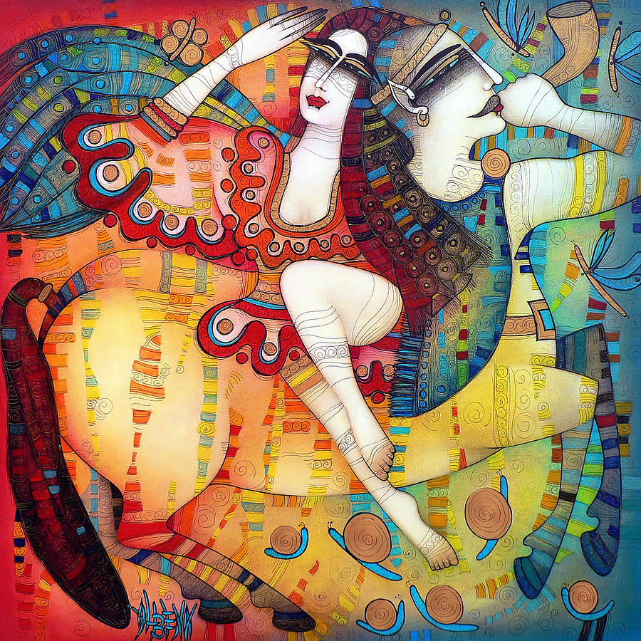 Centaur In Love Painting  - Centaur In Love Fine Art Print