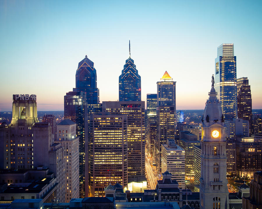 Center city philadelphia by aaron couture
