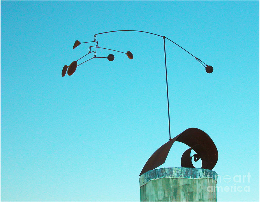 Metal Sculpture Sculpture - Centered by Tommy  Urbans