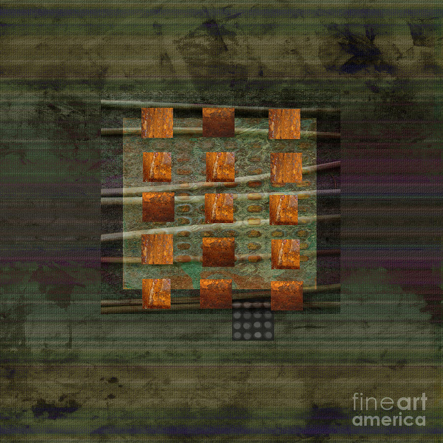Centering Mixed Media  - Centering Fine Art Print