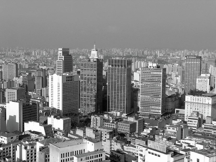 Centro De Sao Paulo Photograph