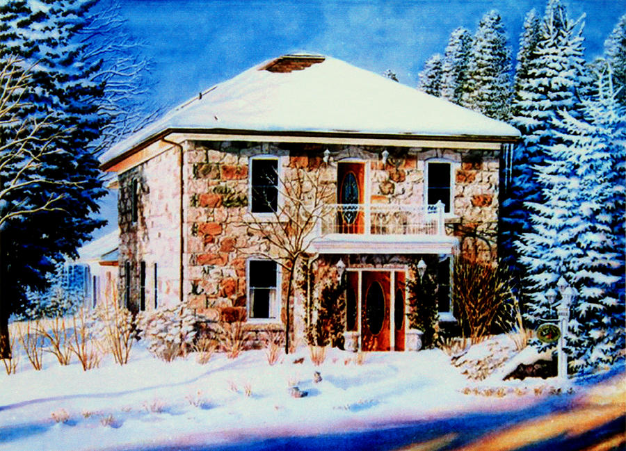 Century Farmhouse Home Painting