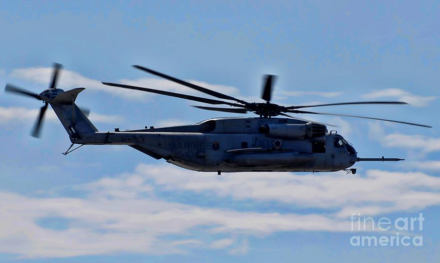 Ch-53d Sea Stallion - 2 Photograph  - Ch-53d Sea Stallion - 2 Fine Art Print