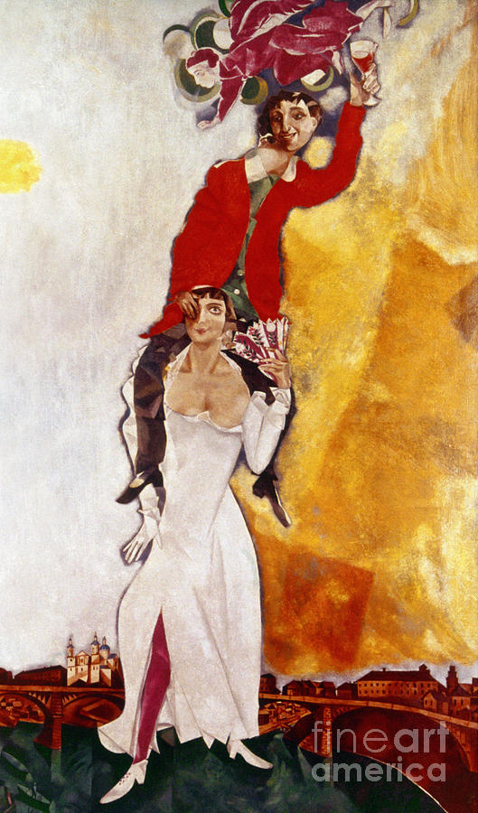 Chagall Portrait Painting