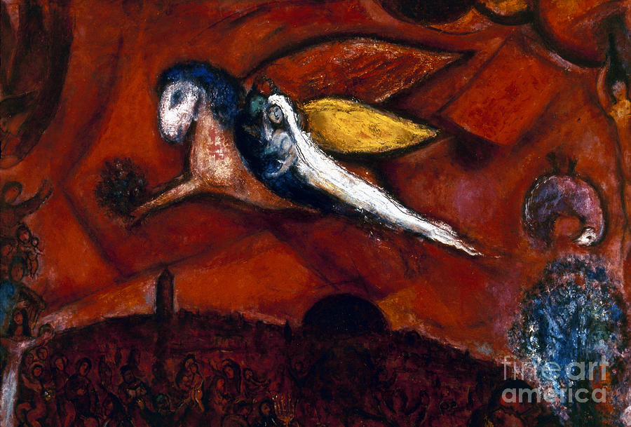Chagall: Song Photograph  - Chagall: Song Fine Art Print