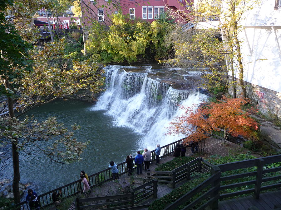 Chagrin Falls Photograph