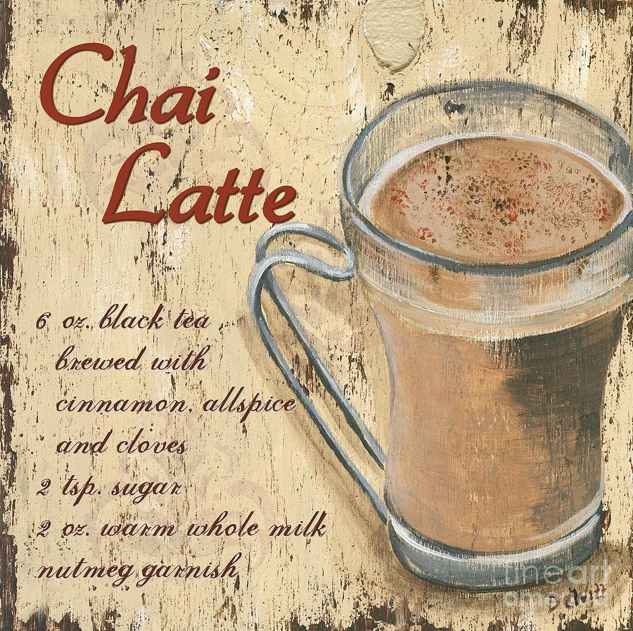 Chai Latte Painting