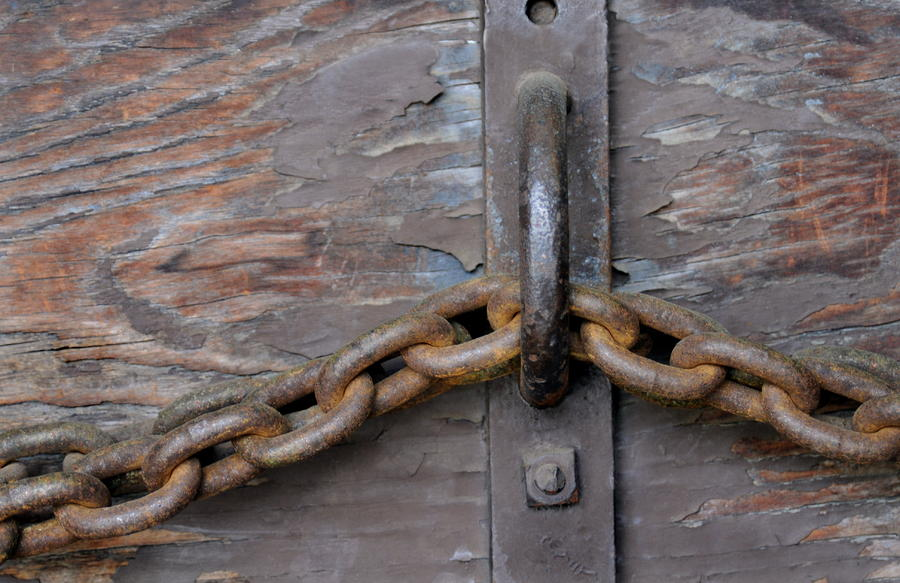 Chain And Grain Photograph  - Chain And Grain Fine Art Print