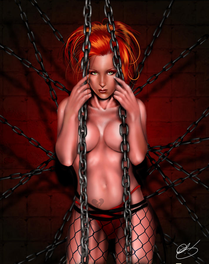 Chains Of Desire Remix Painting  - Chains Of Desire Remix Fine Art Print