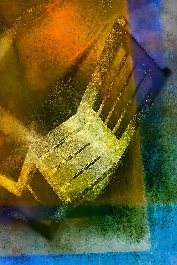 Art Pyrography - Chair  by Mauro Celotti