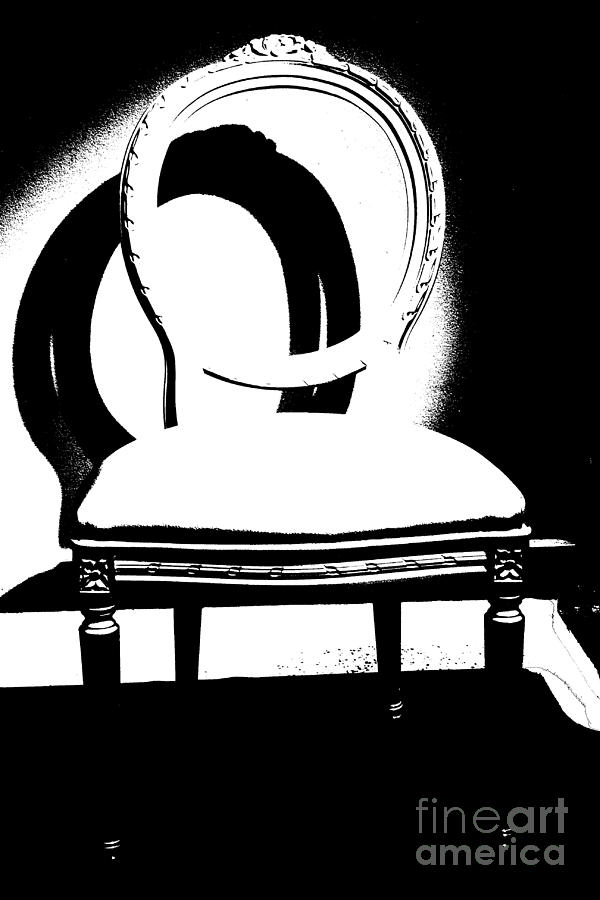Chair Silhouette Mixed Media
