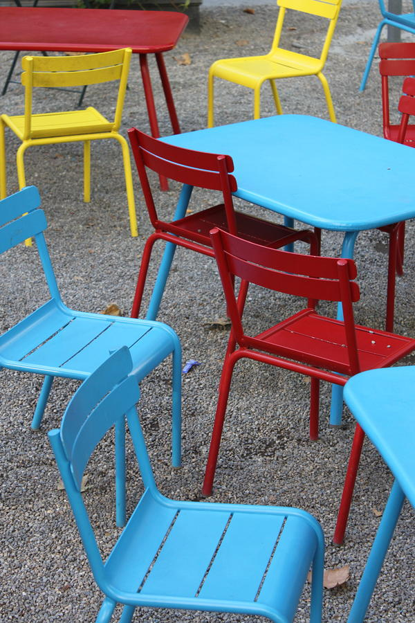 Chairs In Bryant Park Photograph