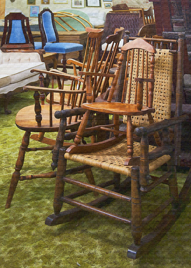 Chairs Digital Art