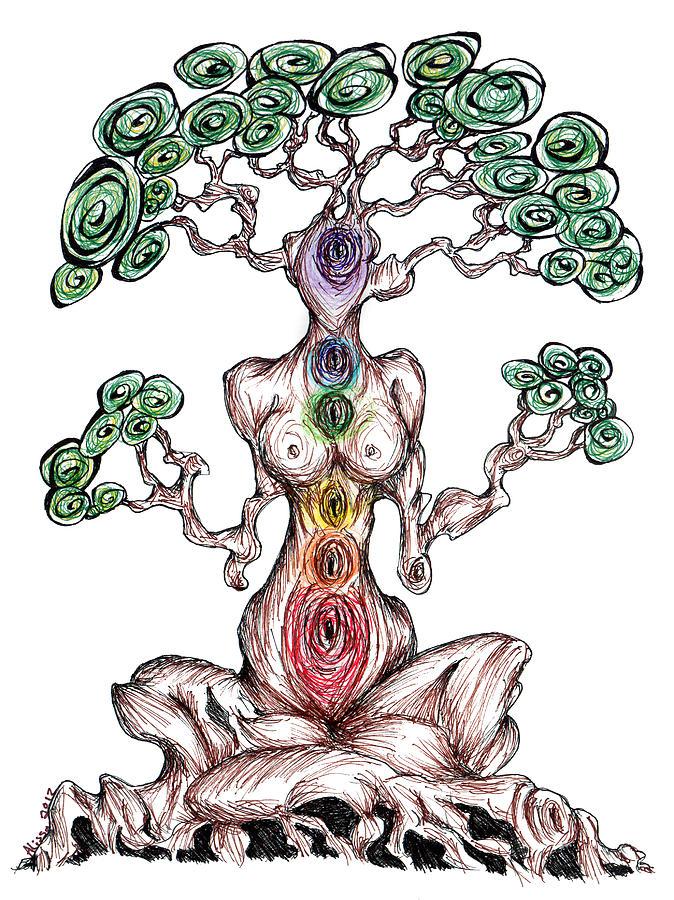 Chakra Tree by Alissa Allery