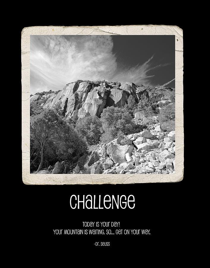 Challenge Photograph - Challenge by Bonnie Bruno
