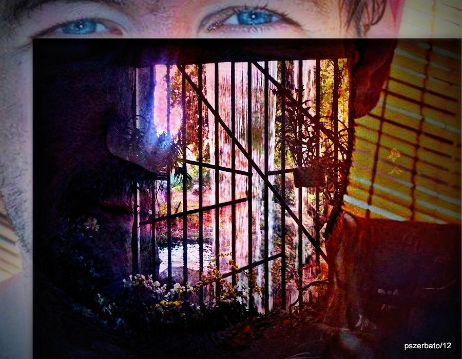 Challenge Enigmatic Imprison Himself Digital Art