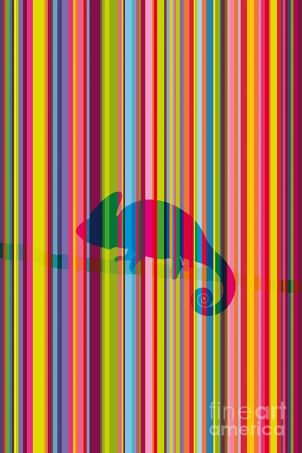 Chameleon-02 Digital Art