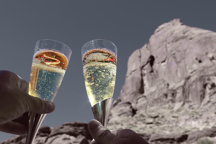 Champagne Wish Photograph