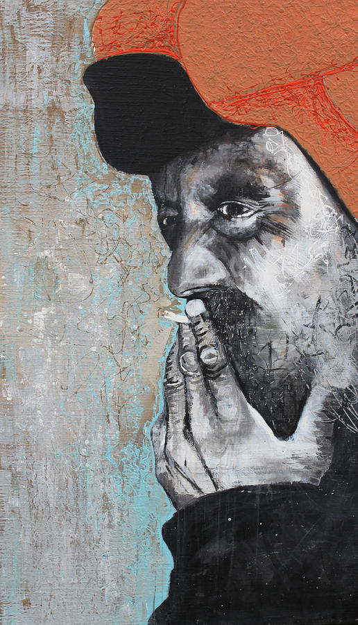 Homeless Painting - Change Hunter  by Kate Tesch