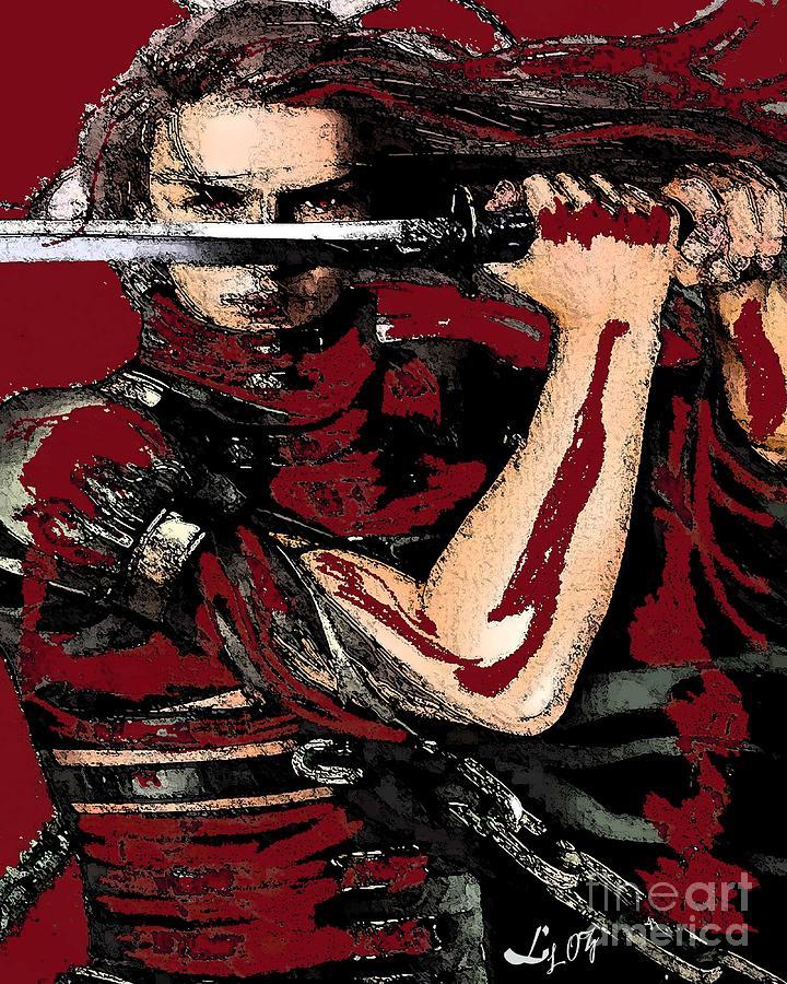 Chango Warrior Mixed Media