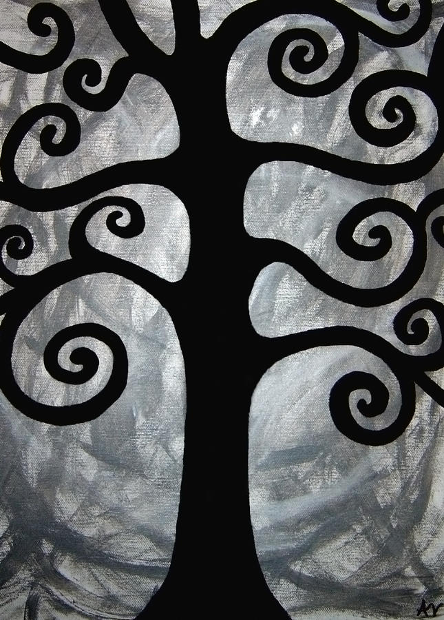Chaos Tree Painting  - Chaos Tree Fine Art Print