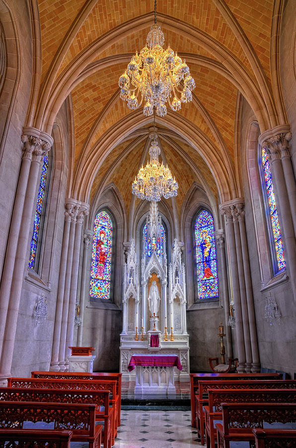 Chapel At Sacred Heart Cathedral Photograph
