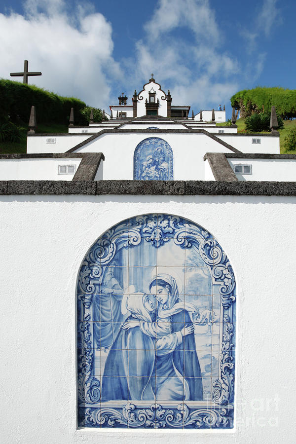 Chapel In The Azores Photograph  - Chapel In The Azores Fine Art Print