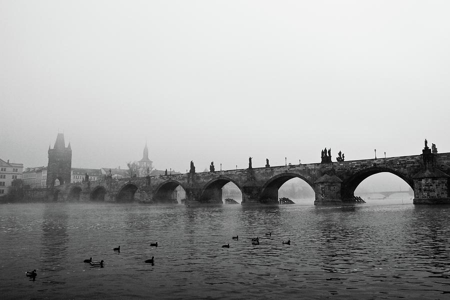 Charles Bridge, Praha Photograph
