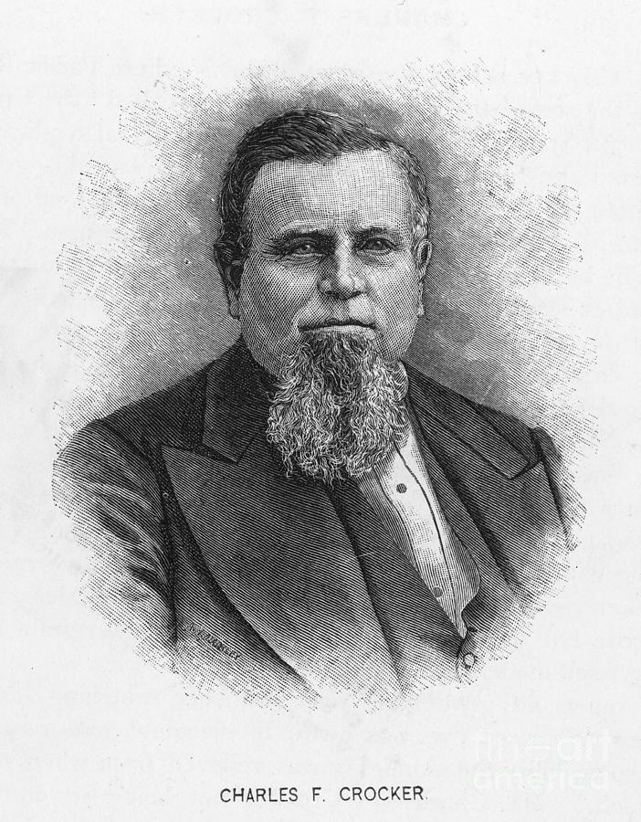 Charles Crocker (1822-1888) Photograph
