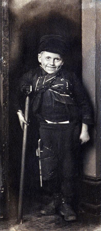 Charles Dickenss Character, Tiny Tim Photograph