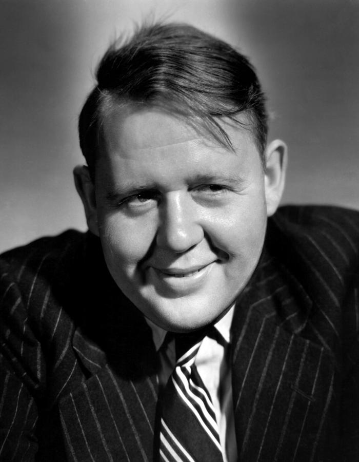 Charles Laughton, 1943 Photograph