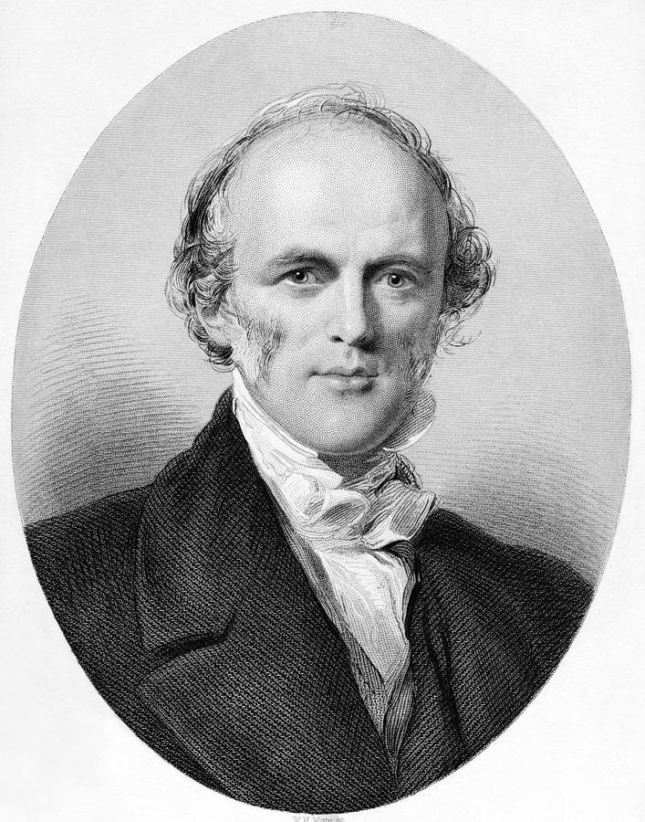 <b>Charles Lyell</b>, British Geologist Photograph