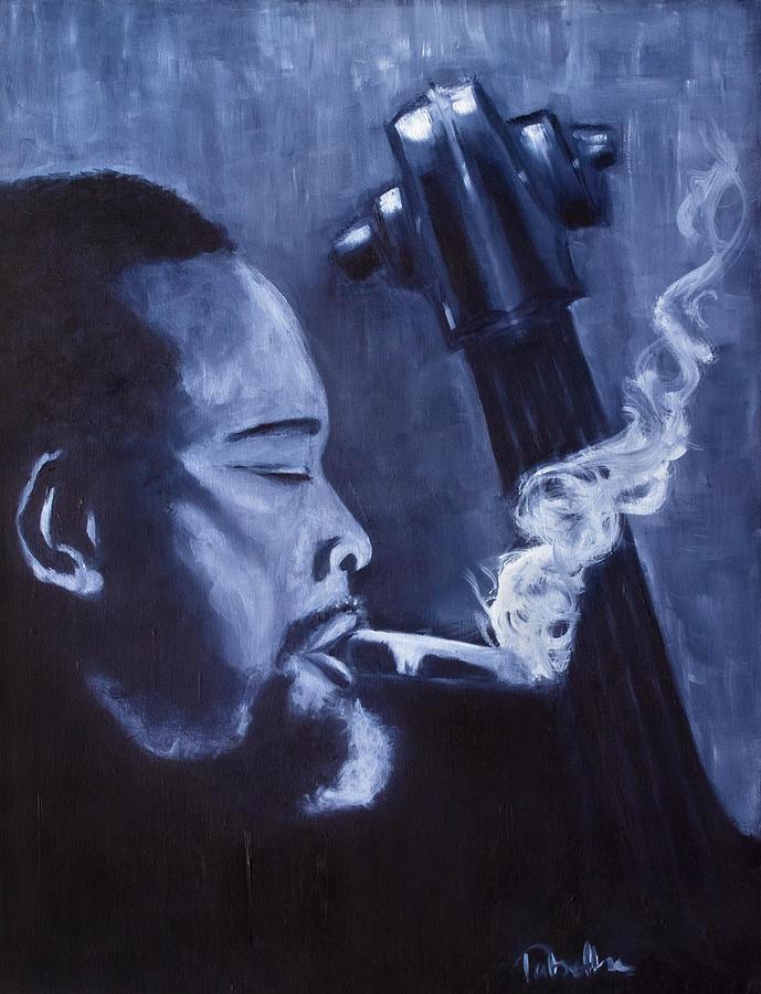 Charles Mingus Painting