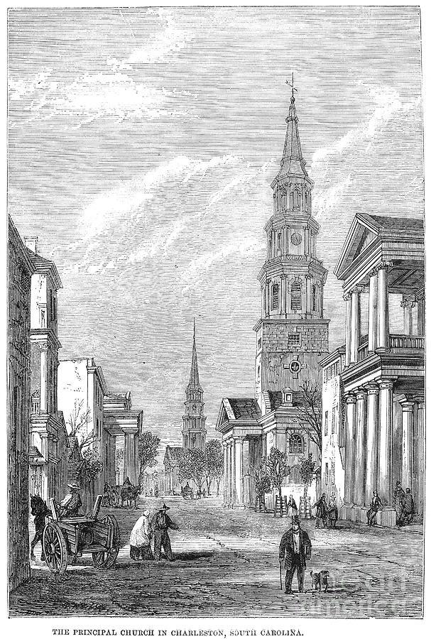 Charleston: Church, 1861 Photograph