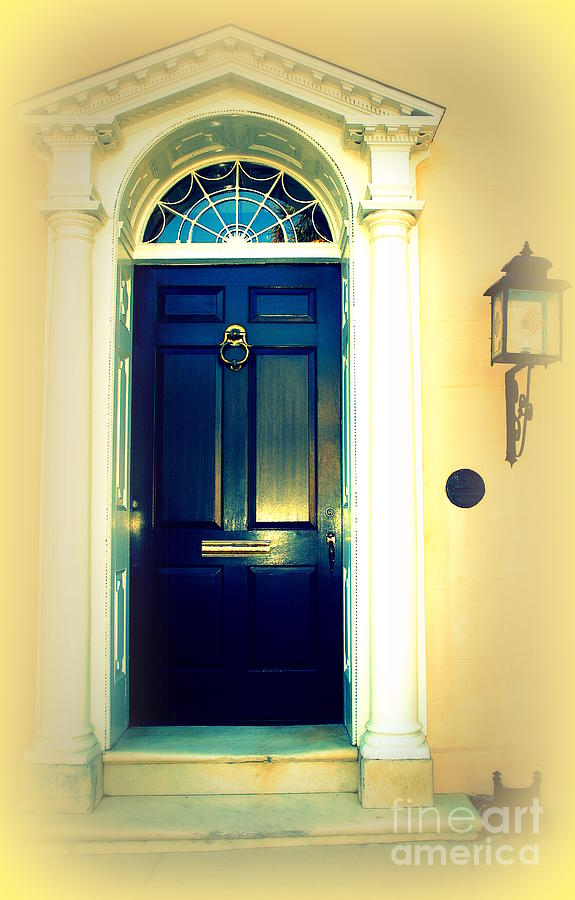 Charleston Door 2 Photograph  - Charleston Door 2 Fine Art Print