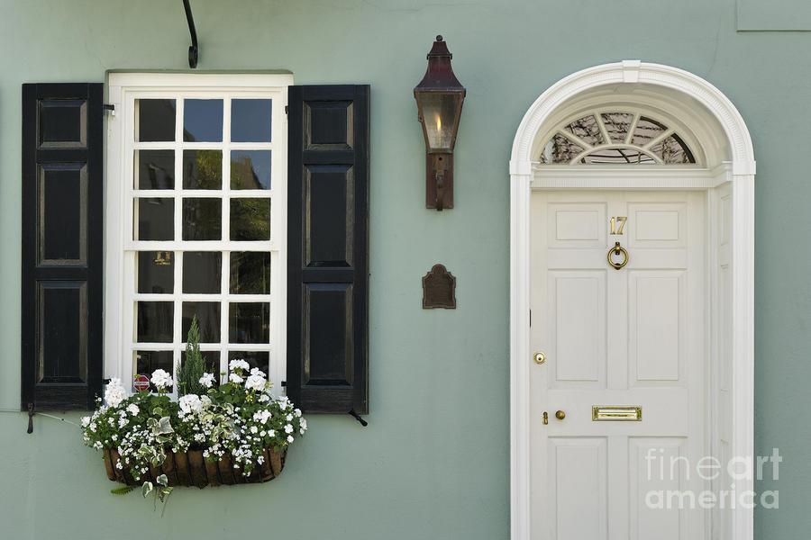 Charleston Doorway - D006767 Photograph