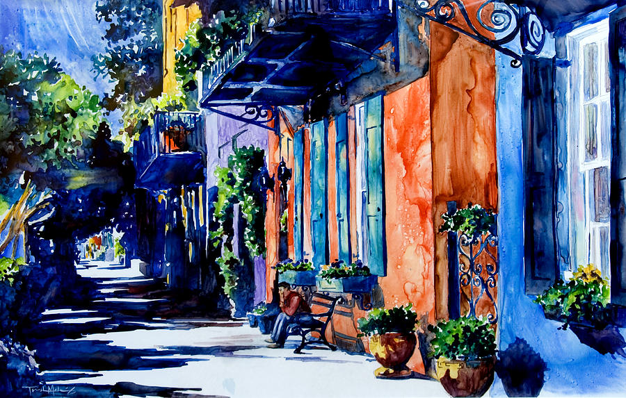 Charleston Dreaming Painting  - Charleston Dreaming Fine Art Print
