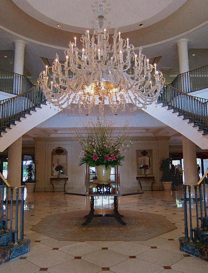 Charleston Hotel Lobby Photograph