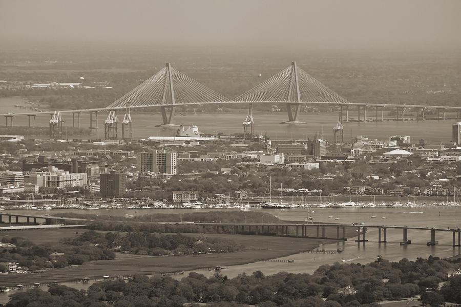 Charleston South Carolina Aerial Photograph