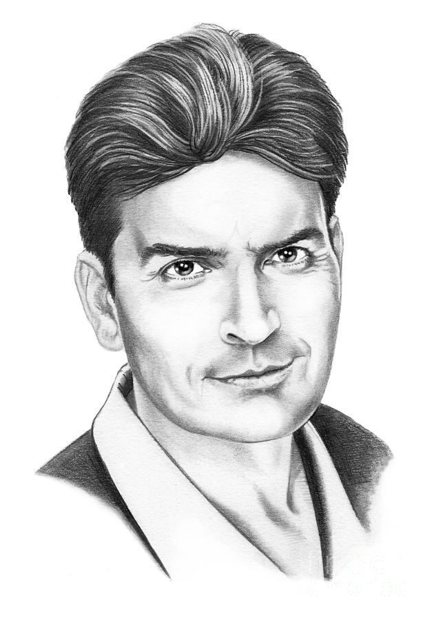 Charlie Sheen Drawing