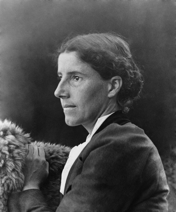 Charlote Perkins Gilman 1860-1935 Photograph