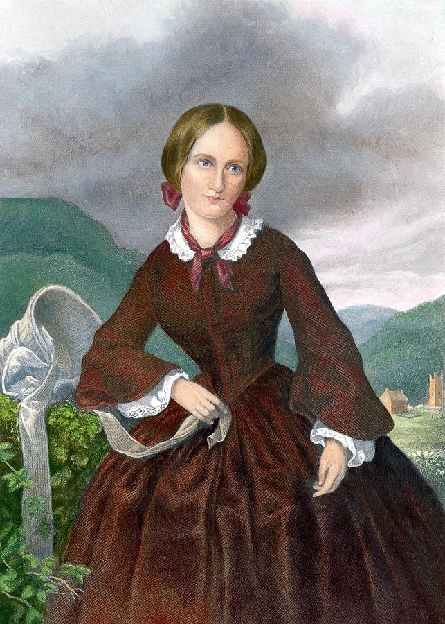 Charlotte Bronte 1816-1855 English Photograph  - Charlotte Bronte 1816-1855 English Fine Art Print