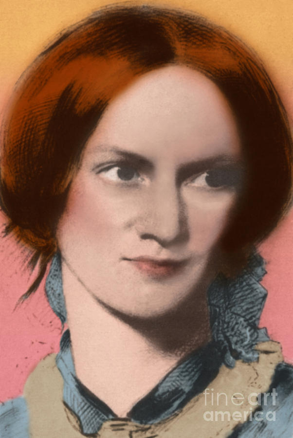 Charlotte Bronte, English Author Photograph
