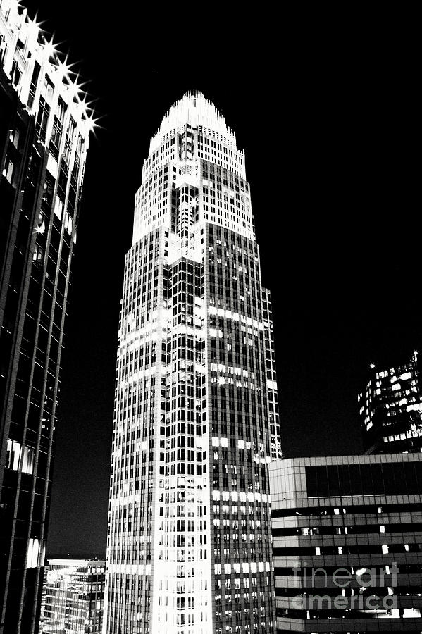 Charlotte North Carolina Bank Of America Building Photograph  - Charlotte North Carolina Bank Of America Building Fine Art Print